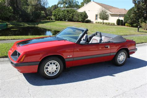 1986 Ford Mustang by 1986 Ford Mustang Gt Convertible 25 000 Orig