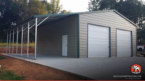 Garage Buildings by Metal Garages For Sale Order Customized Metal Garage And Kits