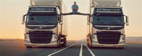 volvo truck ad jean claude van damme stages in volvo truck ad