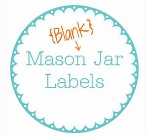 Printable Jar Label Template - TodaysMama