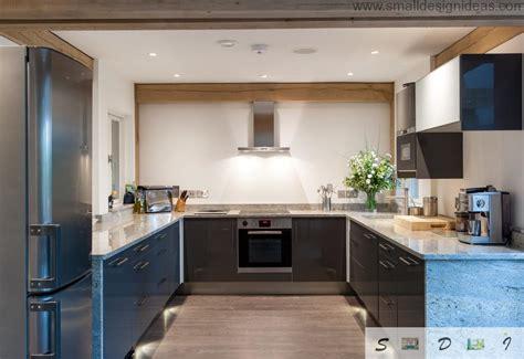 U Shaped Kitchen Layout Ideas - modern medium and large kitchen layout ideas