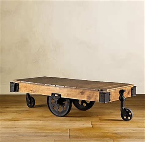 Duchess Fare Trend Spotting {industrial Chic} Coffee Table