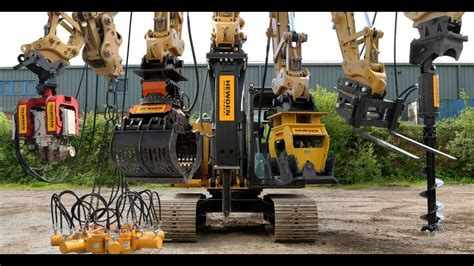hewden excavator attachments     digger youtube
