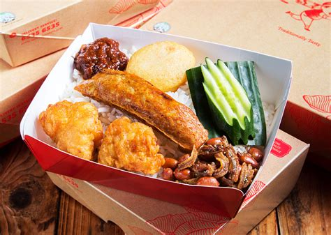 crispy chicken lunch box lee wee brothers