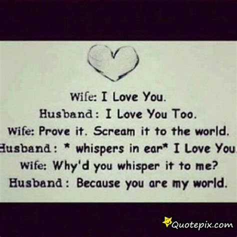 Husband And Wife Sad Love Quotes
