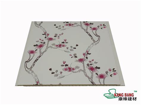 sedia plafon pvc    motif bunga cantik
