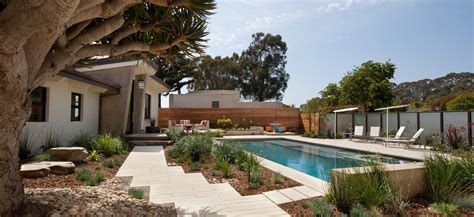 front yard pools a front yard pool and garden with privacy by grace design associates stylish eve
