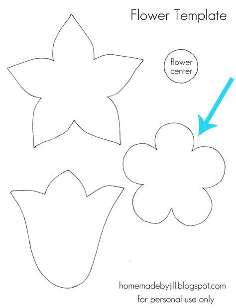 flower cut out template goseekit web lsm05