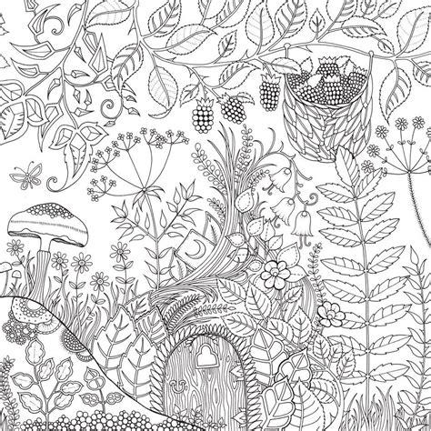 livro floresta encantada livro de colorir  caca ao