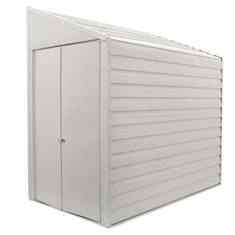 Home Depot Arrow Shed - arrow yard saver 4 ft x 7 ft storage shed ys47 the