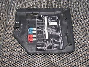 Fuse Box Diagram 1996 Nissan Maxima Interior