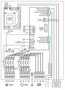 Automatic Transfer Switch Diagram  U2013 Generator Controller