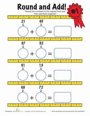 estimating sums math second grade math math addition