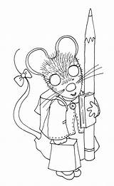 Coloring Digi Stamps 50s Hop Sock Mousie Dolls Dearie Paghes Unknown Visit sketch template