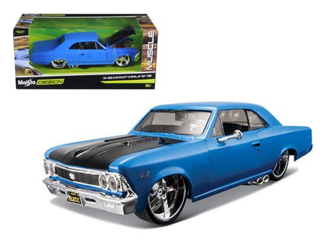 1966 Chevrolet Chevelle Ss 396 Blue