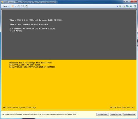 install install vmware esxi 6 0 n3150 j3160 itx braswell platform problem solved mobiletigers projects