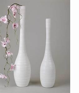 Glasvase 50 Cm Hoch : flaschenvase aus steingut vase flaschenform creme wei 50 cm vase rechts ebay ~ Bigdaddyawards.com Haus und Dekorationen