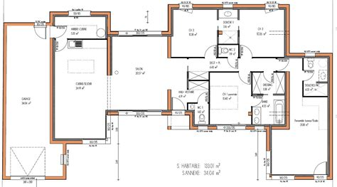 plan de maison 5 chambres images about plans maisons on small house plans plan