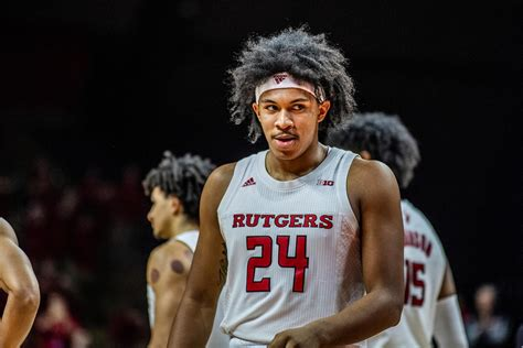 ron harper jr mens basketball rutgers university