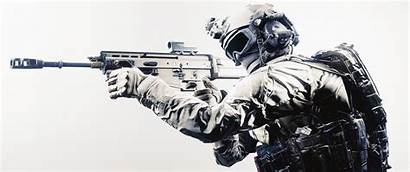 Tactical Military Soldier Background Assault Rifle Simple