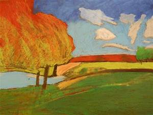 creative expressions landscapes in pastels