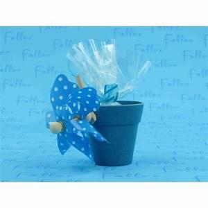 Moulin A Vent Deco Bapteme : pot bleu avec moulin a vent et dragees bapteme ~ Melissatoandfro.com Idées de Décoration
