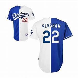 Majestic Jersey Size Chart Los Angeles Dodgers Clayton Kershaw Official Blue White