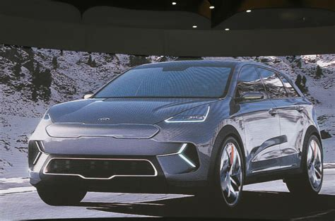 Kia Niro Concept by Kia Niro Ev Concept Ready For Ces