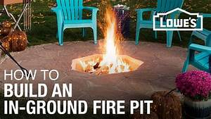 How, To, Build, An, In-ground, Fire, Pit