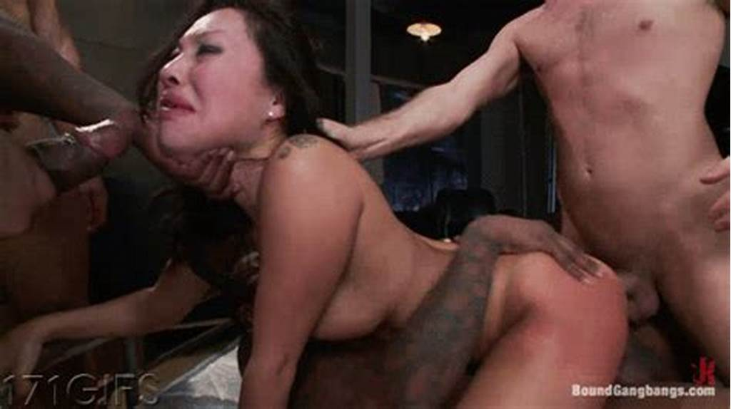 #Asa #Akira #Tied #Up #And #Gangbanged #In #An #Abandoned #Building