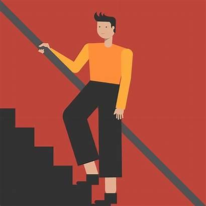 Stairs Climbing Step Money Activism Network Skills