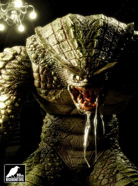 hunter promo characters art resident evil remake