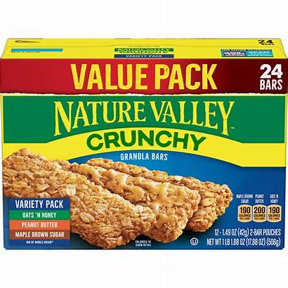 Granola Bars Valley Nature Crunchy Pack Variety