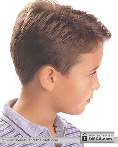 boys short hairstyles  haircuts side   views