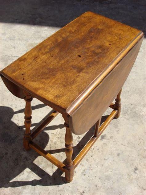 vintage drop leaf side table 23 best maple furniture images on pinterest maple