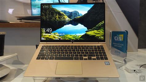 lg s gram 15 laptop looks like a gold macbook