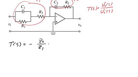 Example Finding The Transfer Function