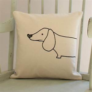 Sausage, Dog, Cushion, Cover, By, Miss, Shelly, Designs