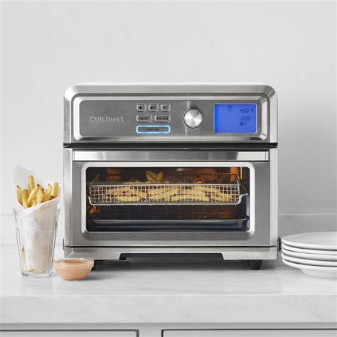 fryer cuisinart air toaster oven digital airfryer sonoma ovens williams toa kitchen