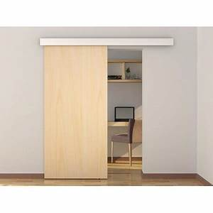 79quot aluminum barn wood sliding door hardware pocket door With barn door track cover