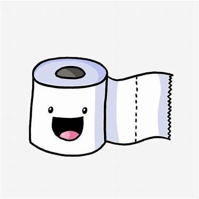 Toilet Paper Roll Cartoon Clipart Higienico Papel
