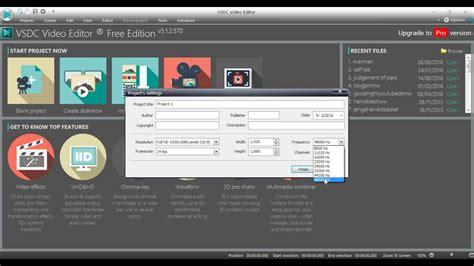 vsdc video editor  project  adding text  ver