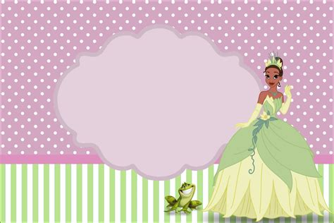 imprimible gratis la princesa  el sapo dale detalles