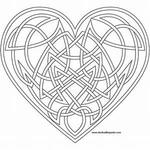 Free coloring pages of celtic knot