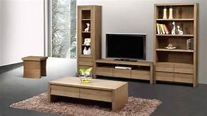 Meubles De Salon En Bois : meubles de salon en bois moderne ~ Teatrodelosmanantiales.com Idées de Décoration