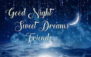 good night sweet dreams friends hd images | GIRLS WALLPAPERS