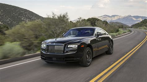 First Drive 2017 Rolls Royce Wraith Black Badge
