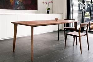 Table Style Scandinave : table a manger style scandinave ~ Teatrodelosmanantiales.com Idées de Décoration