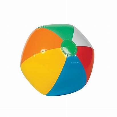 Ball Beach Balls Clipart Rainbow Marble Cliparts