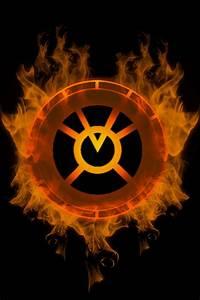 Firey Orange Lantern Chamber by KalEl7 on DeviantArt